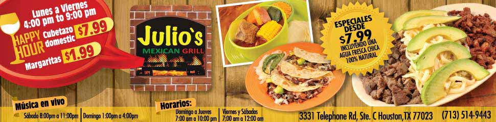 Julio's Mexican Grill
