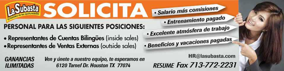 Empleo en Houston